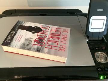 scanner gets book